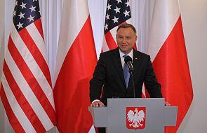 Prezydent Duda: Polska, Litwa, Łotwa i Estonia podtrzymują apel do władz Białorusi