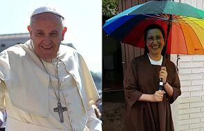 """Papież napisał do zakonnicy, która pomaga kobietom transpłciowym. """"Bóg obficie ci odpłaci"""""""