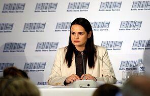 Cichanouska: na Białorusi powinny się odbyć nowe wybory prezydenckie