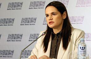 Cichanouska: Łukaszenka prędzej czy później będzie musiał odejść