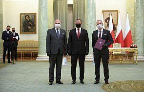 Prezydent powołał Zbigniewa Raua na szefa MSZ i Adama Niedzielskiego na szefa MZ