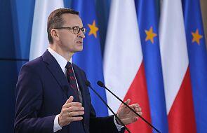 Premier: w najlepiej pojętym interesie państwa polskiego leży suwerenna Białoruś