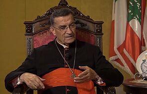 Bejrut: patriarcha Rai żąda usunięcia składów broni z osiedli mieszkaniowych