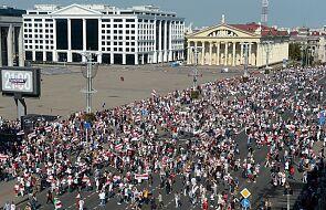 Białoruś: nawet 200 tysięcy na rekordowym proteście w Mińsku