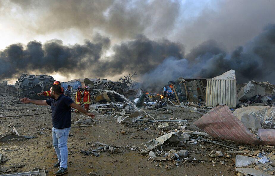 Liban: liczba ofiar śmiertelnych wybuchu w Bejrucie wzrosła do 135