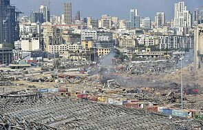 Gubernator Bejrutu: po eksplozji do 300 tys. ludzi bez dachu nad głową