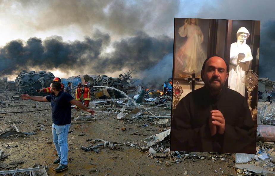 Maroniccy mnisi proszą o modlitwę za ofiary i poszkodowanych w Libanie