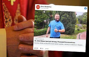 """Ksiądz, który przeszedł koronawirusa: ta choroba to nie jest """"fake news"""""""