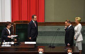 Prezydent Andrzej Duda złożył przysięgę i objął urząd na kolejne 5 lat. Zakończyło się urocyste Zgromadzenie Narodowe