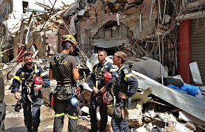 Rzecznik PSP: polscy strażacy mają do przeszukania w Bejrucie kilka hektarów gruzowiska
