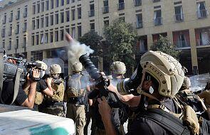 Liban: ponad 110 rannych podczas protestów w Bejrucie