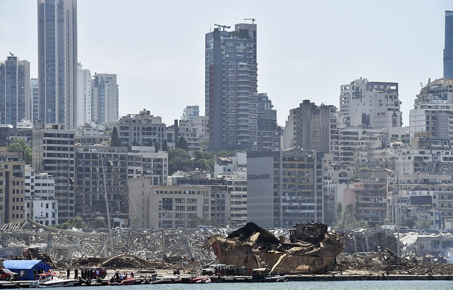 Małe szanse na znalezienie ocalałych z eksplozji w Bejrucie