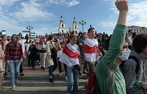 W Mińsku zatrzymano dziennikarzy relacjonujących akcję protestu
