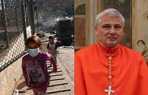 """""""Zlikwidujmy te obozy koncentracyjne"""". Kard. Krajewski wzywa do przyjęcia uchodźców z Lesbos"""