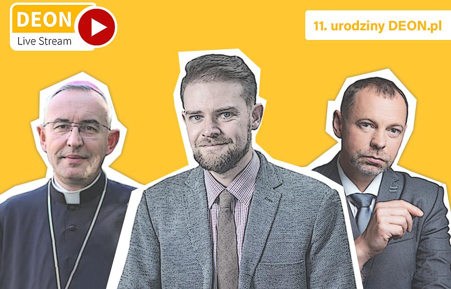 """""""Obudzić proroków"""" - spotkanie z bp. Piotrem Jareckim i Tomaszem Krzyżakiem"""