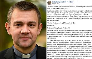 Dariusz Piórkowski SJ: przeczytałem dewastujący list ks. Isakowicza- Zaleskiego. Jego treść jest przygniatająca. Brakuje słów