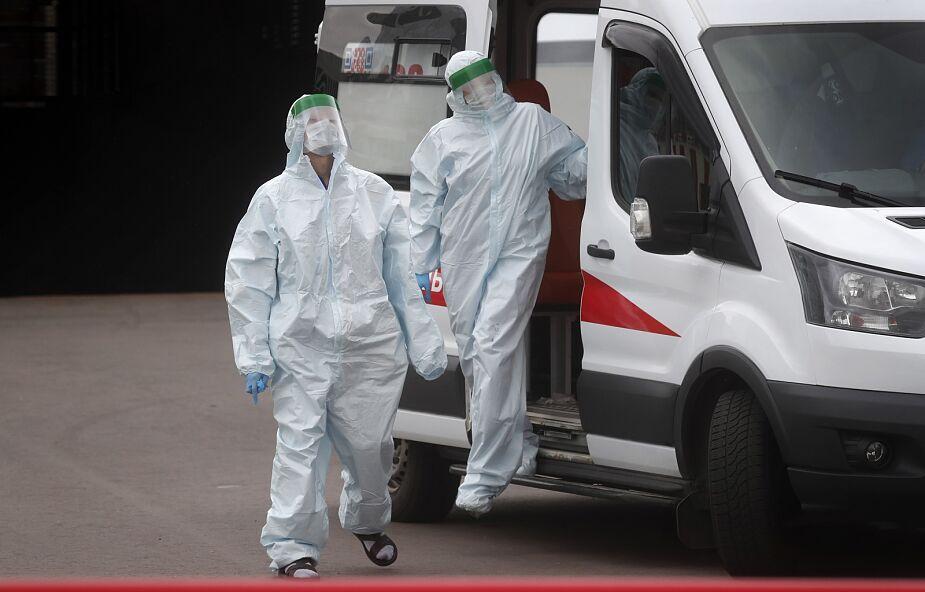 Na Ukrainie najwyższy dobowy bilans zgonów z powodu Covid-19