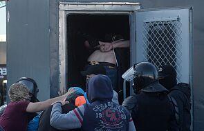 Białoruś: w Mińsku masowe zatrzymania uczestników protestu