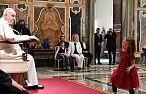 Papież spotkał się z autystycznymi dziećmi