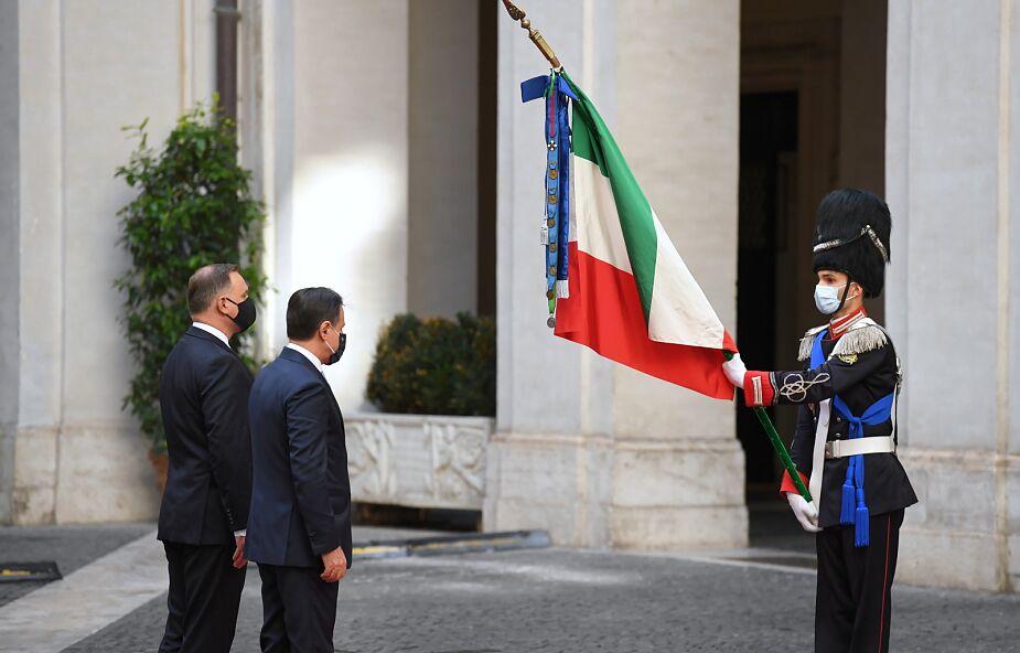 Rzym: prezydent Duda odwiedził polski kościół pw. św. Stanisława BM