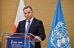 """ONZ: Prezydent RP apeluje o """"globalną solidarność"""" i o szanowanie praw człowieka na Białorusi"""