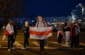 Białoruś: w Mińsku znów protestują lekarze, milicja zatrzymała 10 osób