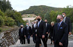 Prezydent: oddaliśmy hołd polskim żołnierzom poległym w bitwie o Monte Cassino