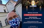 Proboszcz z Warszawy zawiesił taki plakat na drzwiach kościoła. Chodzi o koronawirusa