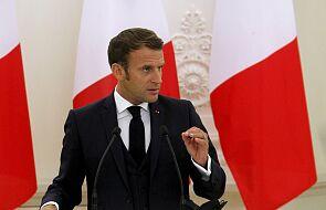 Macron: zrobię, co w mojej mocy, by wesprzeć naród białoruski