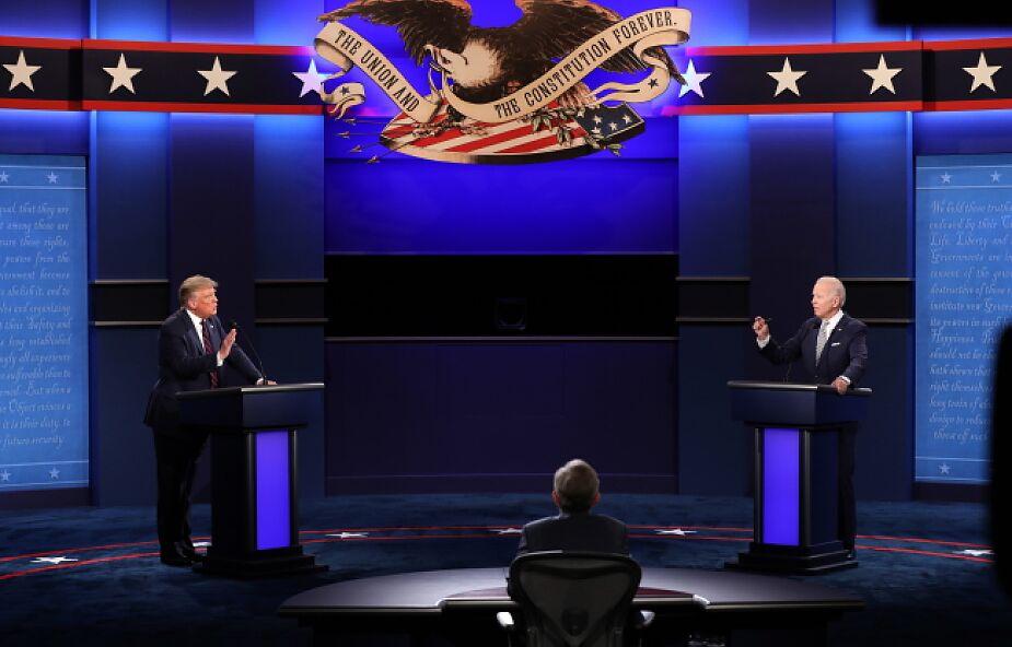 USA: debata Trump-Biden zdominowana przez personalne ataki