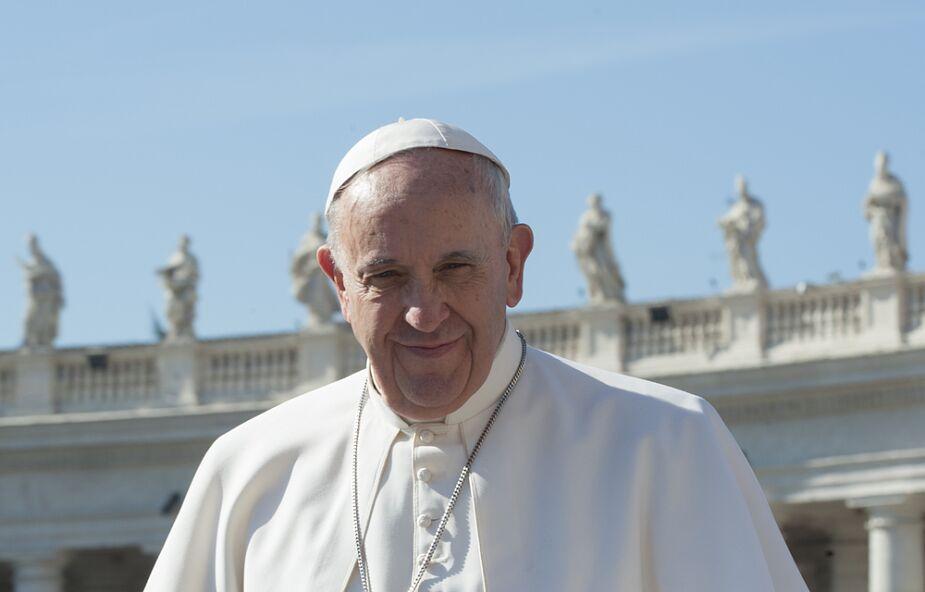 Franciszek podziękował sportowcom za hojność