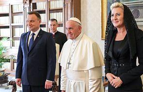 Watykan: spotkanie Andrzeja Dudy z papieżem pierwszą audiencją prezydencką po lockdownie