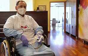 Pacjent po COVID-19 i przeszczepie płuc wkrótce opuści szpital