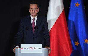 Morawiecki: reakcja państw zachodnich m.in. na sytuację na Białorusi powinna być silniejsza