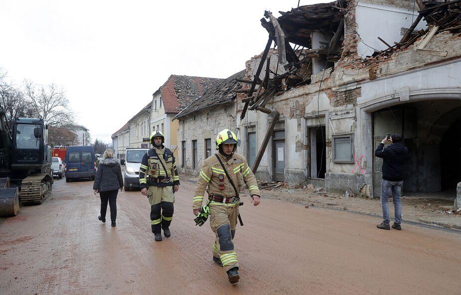 Chorwacki biskup po trzęsieniu ziemi: nie poddajemy się, Caritas spieszy z pomocą