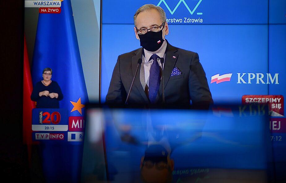 Niedzielski: oczekuję dymisji rektora Warszawskiego Uniwersytetu Medycznego