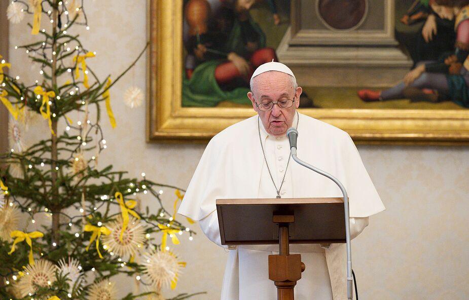 Papież Franciszek: znalazłem się jak w klatce