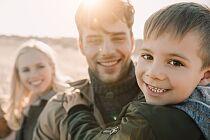 Kochająca się rodzina to nie kwestia szczęścia