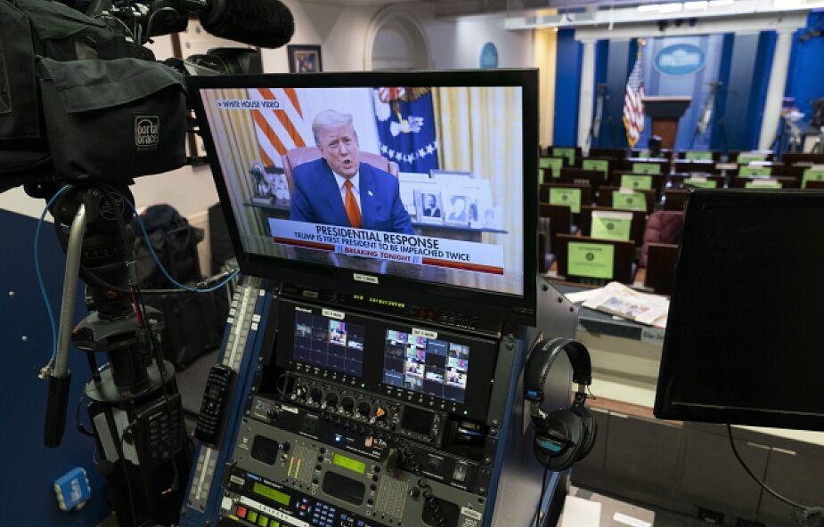 """USA: 232 głosy """"za"""" impeachmentem Donalda Trumpa, 197 """"przeciw"""""""