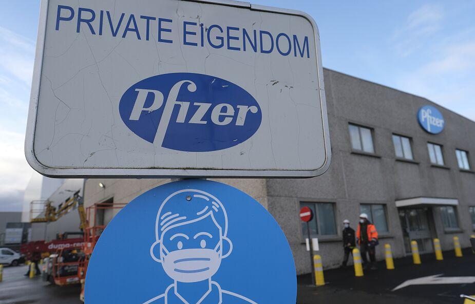 Pfizer zapowiada opóźnienia w dostawach do UE szczepionek przeciw Covid-19