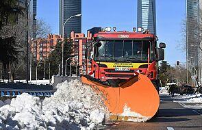 Chaos w aglomeracji Madrytu wskutek ataku zimy i nasilenia się epidemii Covid-19