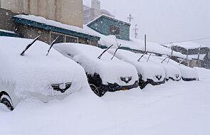 Japonia: osiem osób w szpitalu wskutek wypadku na zaśnieżonej autostradzie
