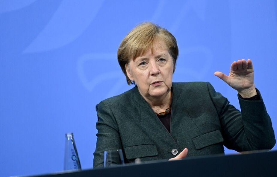 Merkel o pandemii: nie wykluczamy przywrócenia kontroli granicznych