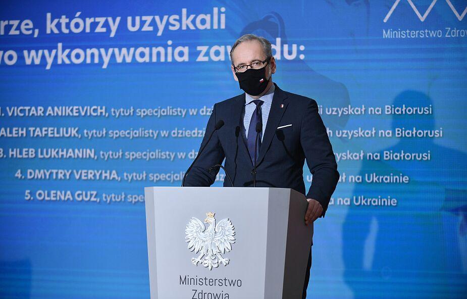 Minister zdrowia: w Polsce ruszają badania nad mutacjami COVID-19