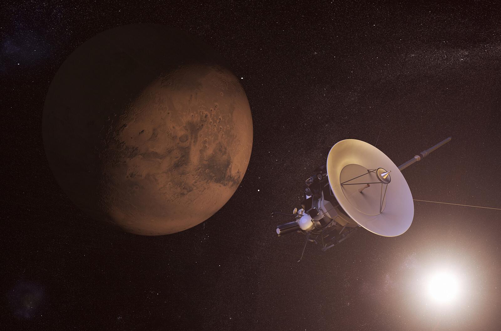 Sonda Cassini / fot. depositphotos.com