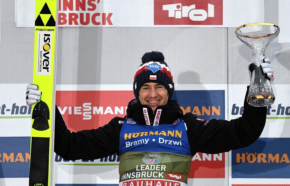 Kamil Stoch wygrał konkurs w Innsbrucku i został liderem Turnieju Czterech Skoczni.