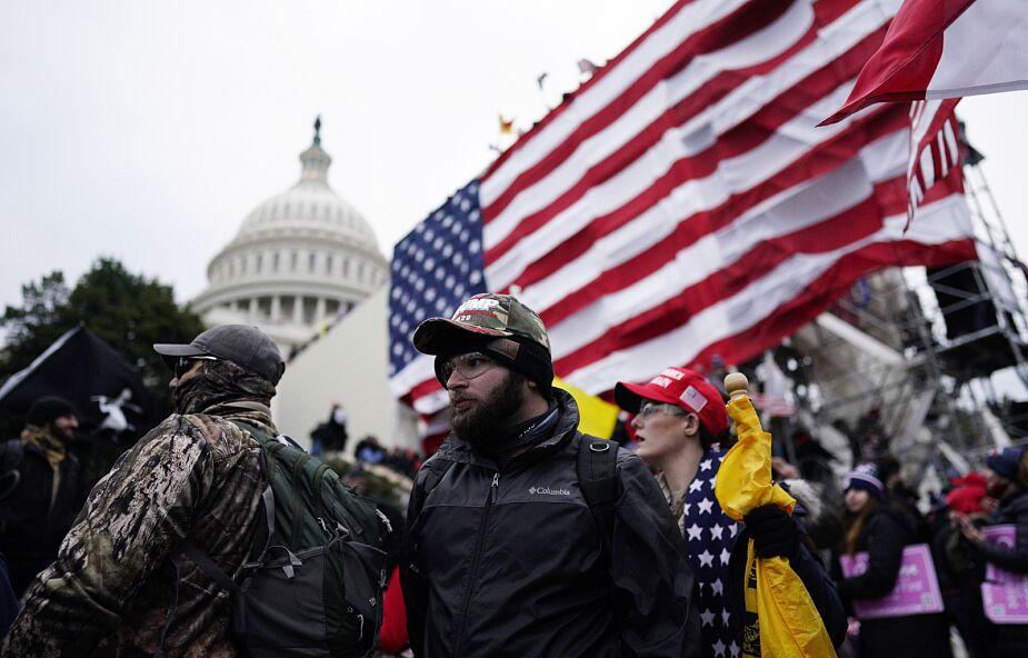 Policja: cztery osoby zmarły w trakcie zamieszek w Waszyngtonie