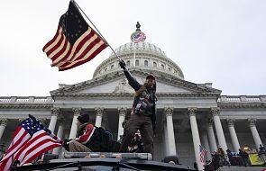 Chaos w Waszyngtonie; demonstranci wtargnęli do Kongresu