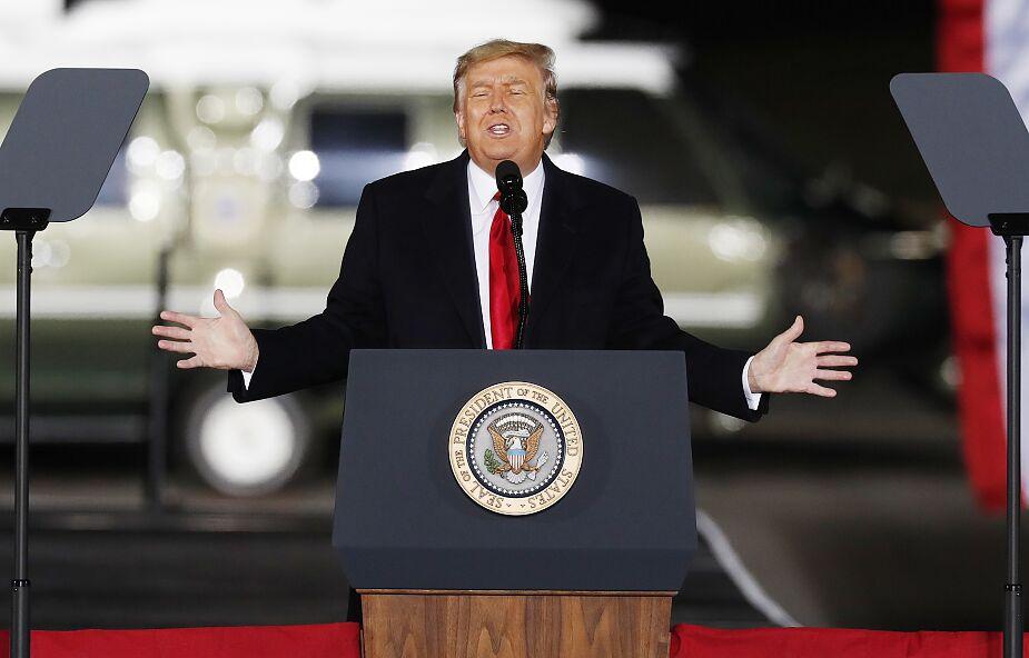 Donald Trump nie weźmie udziału w inauguracji swojego następcy