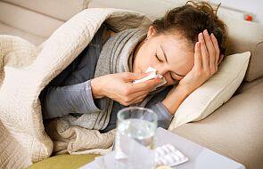 Prawie dwa razy więcej zachorowań na grypę niż rok temu